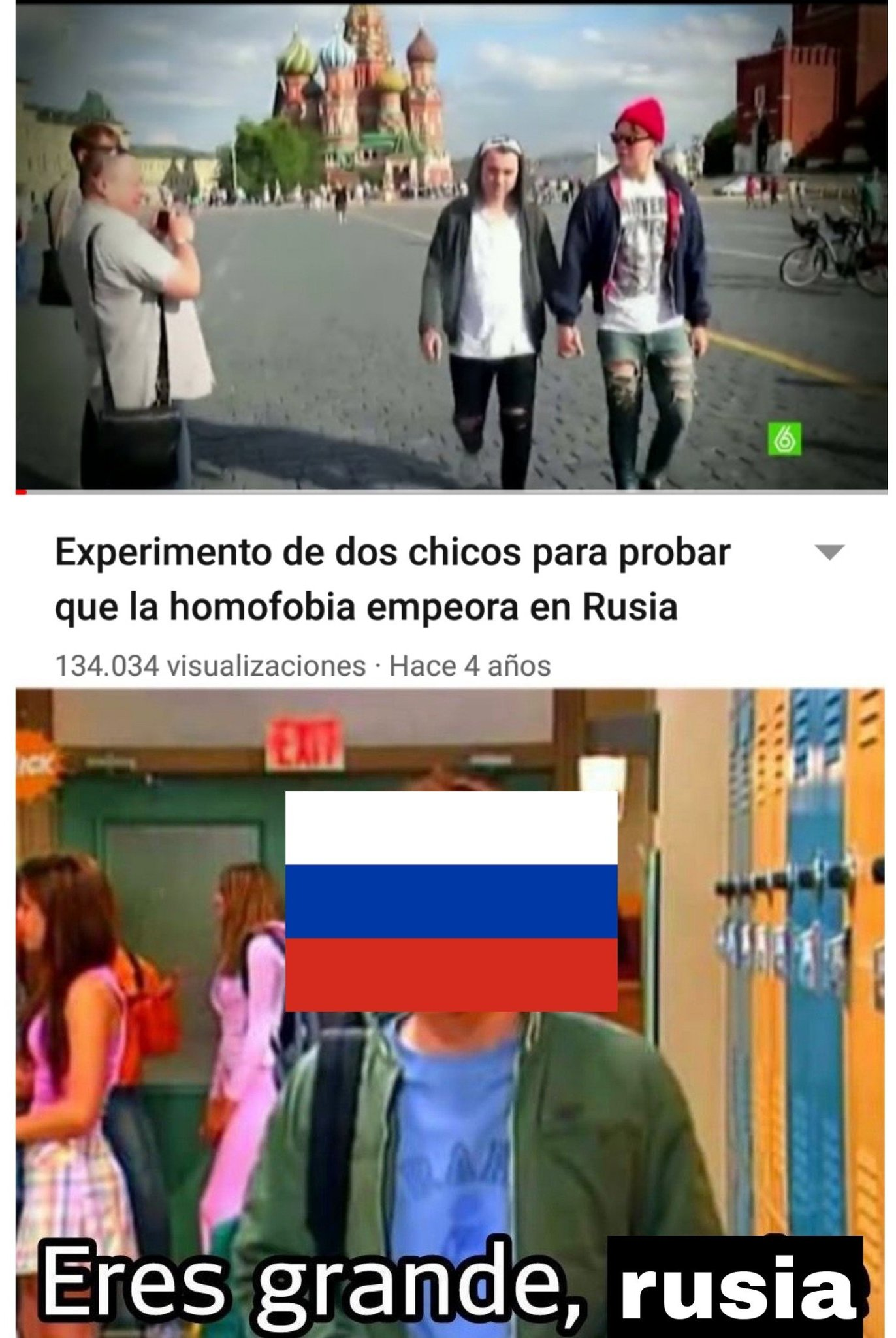 Alguien me pasa un curso online de ruso? - meme