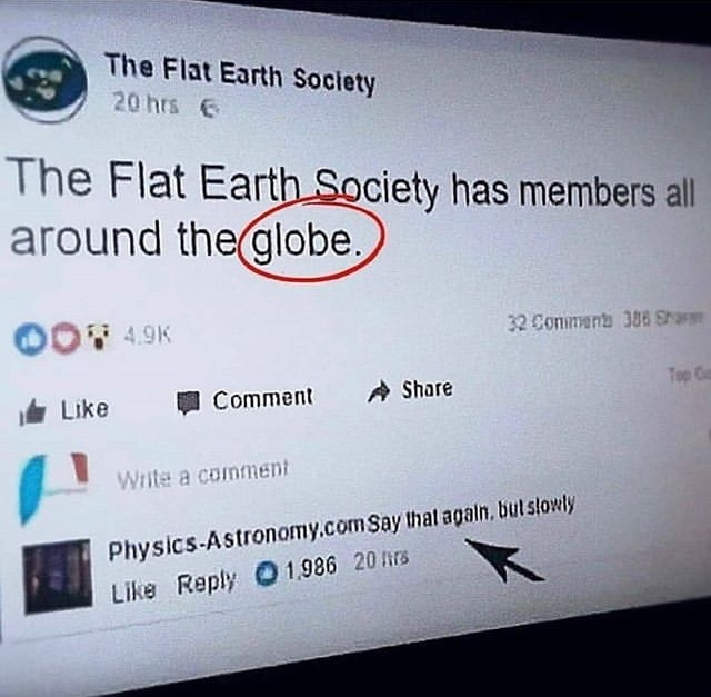 le globe oui - meme