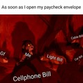 Bills. Bills. Bills.