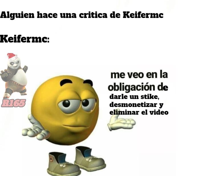 tremendo lloron el keifer - meme