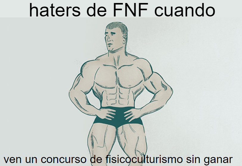 cry, cry all you want | pd: los fans de FNF no saben como defenderse - meme