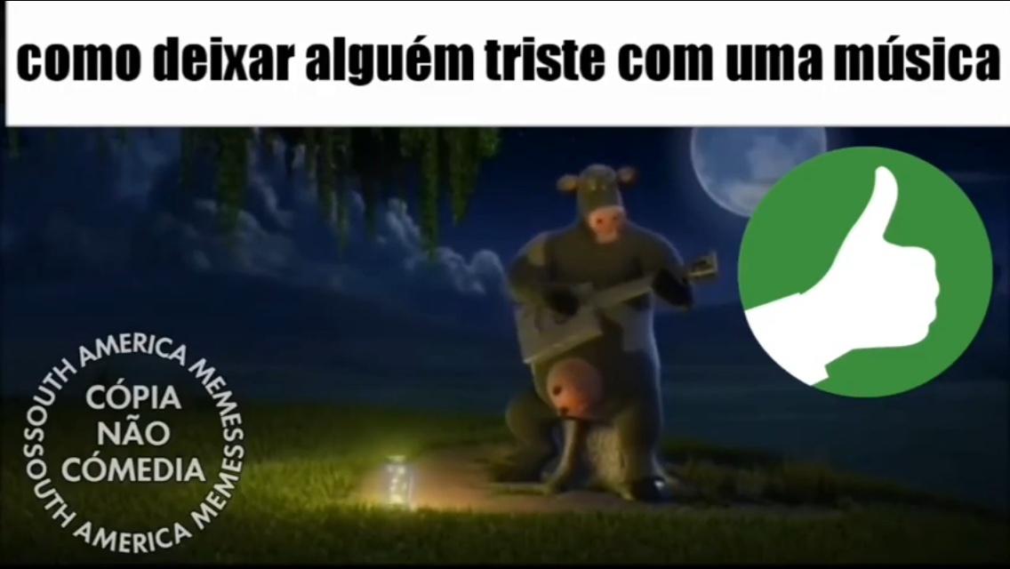 VACA HOMEM COM TETAS - meme