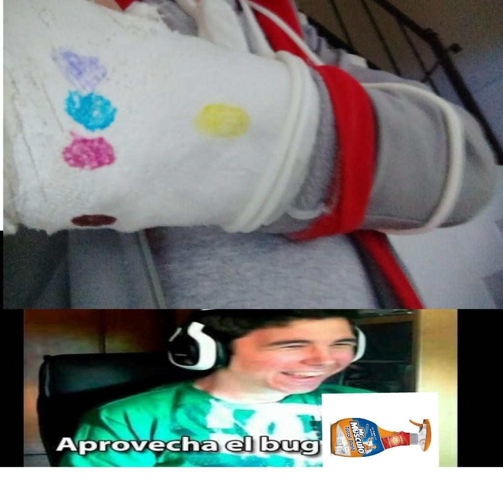 Es mi brazo - meme