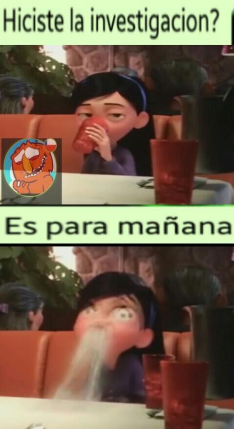 Tareas :,/ - meme