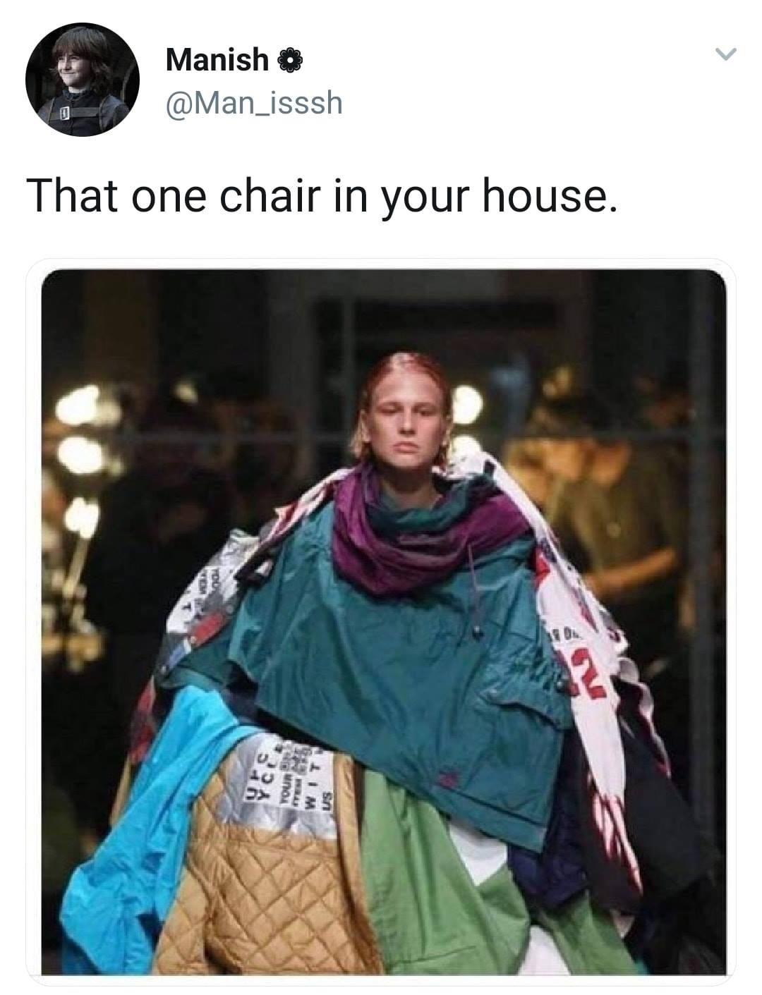 fashion today - meme
