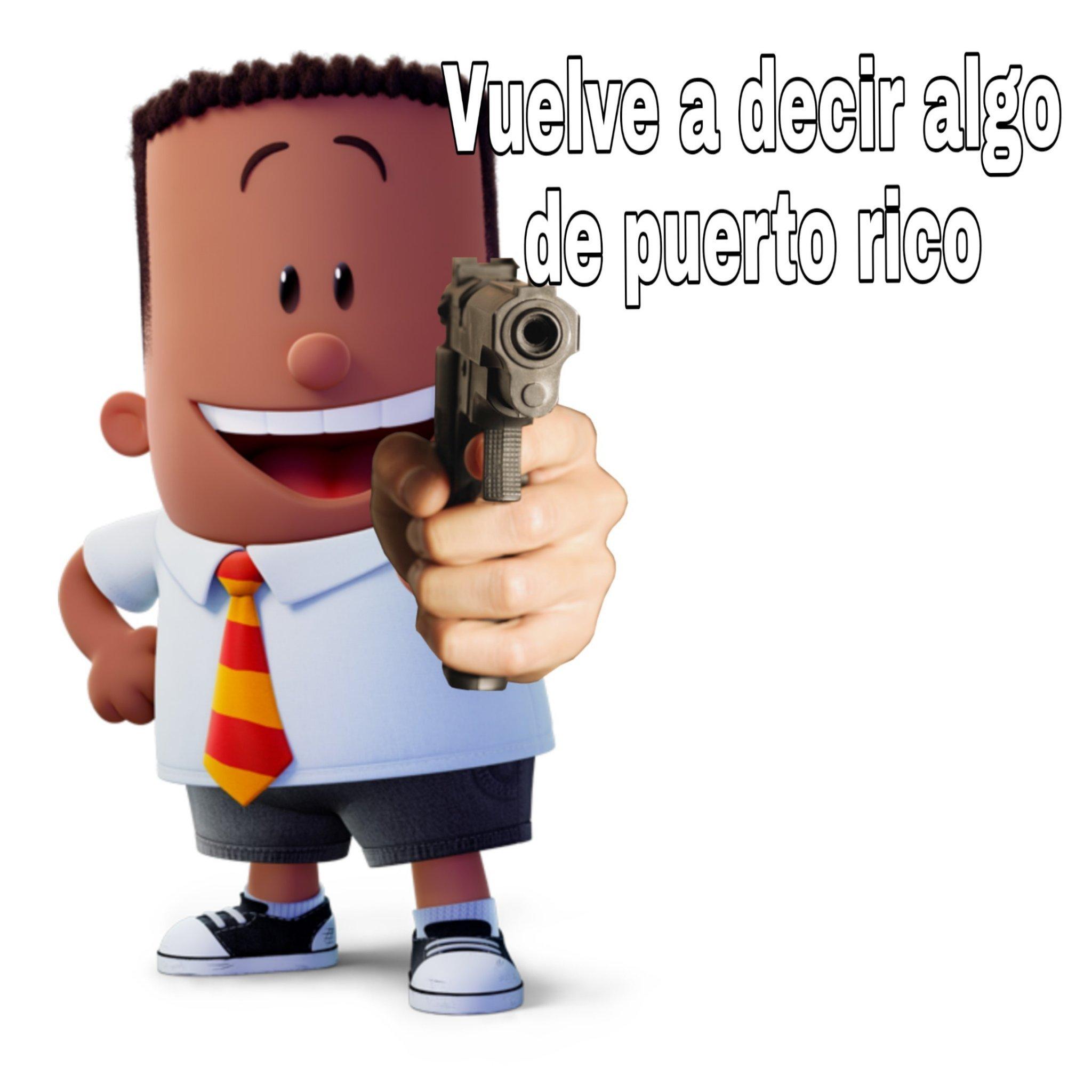 Viva puerto rico - meme