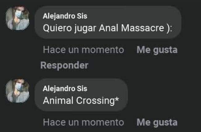 "Se ve fresco ese tal ""Anal massacre"" - meme"