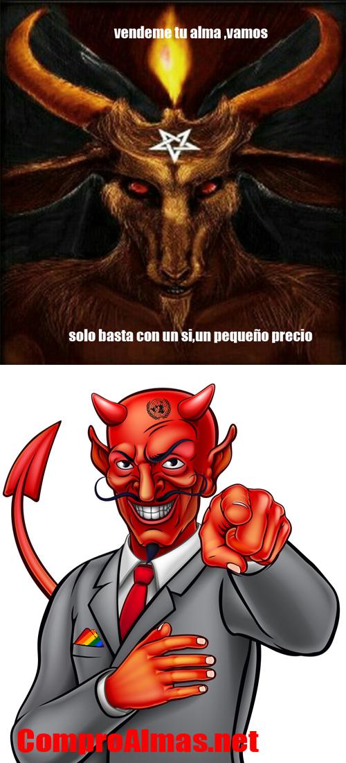 Al trino del diablo(tu vieja) - meme