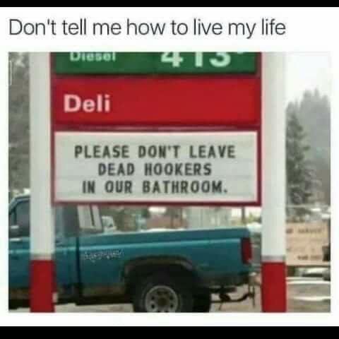 I'll do it my way ! - meme