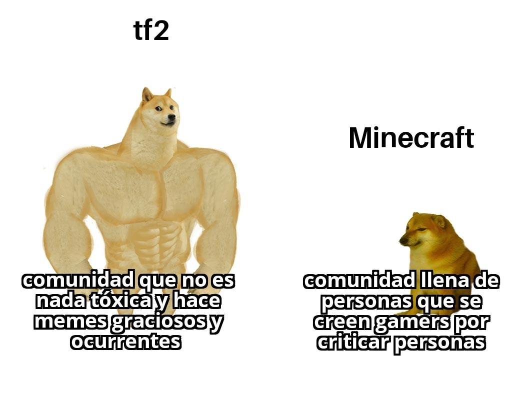 Ambos tienen comunidades tóxicas - meme