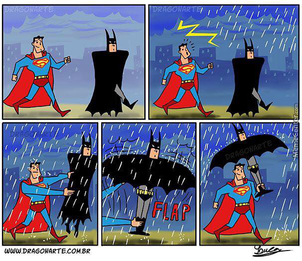 Batparapluie ! - meme