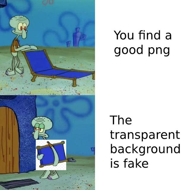 Fake PNG - meme
