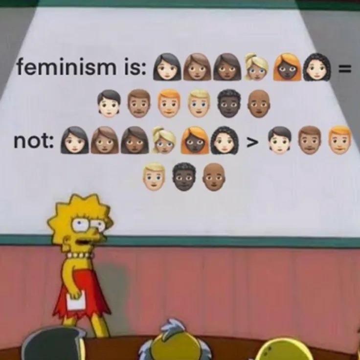 equal not better - meme