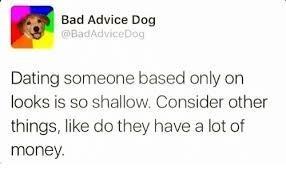 Good advice?