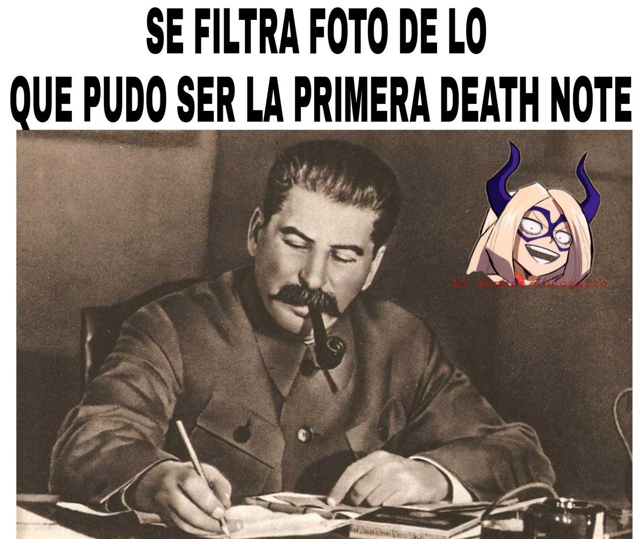 Stalin note - meme
