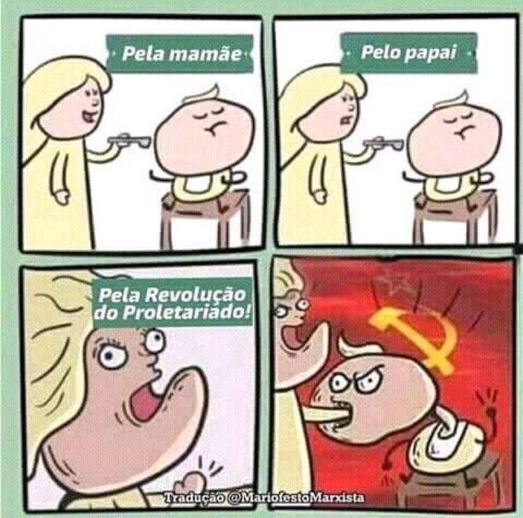 Pela revolução - meme