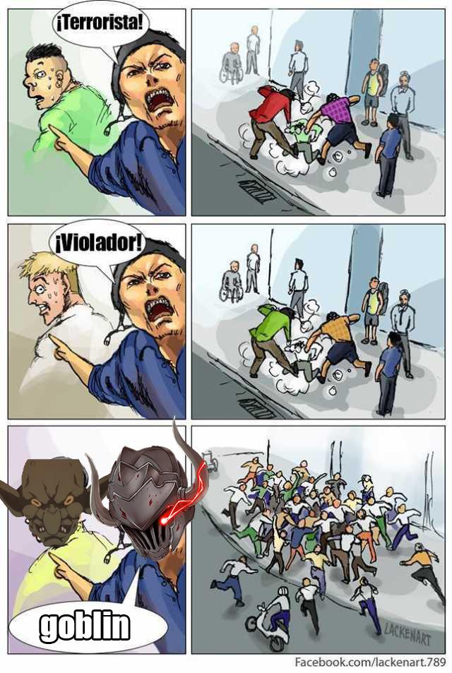 goblins - meme