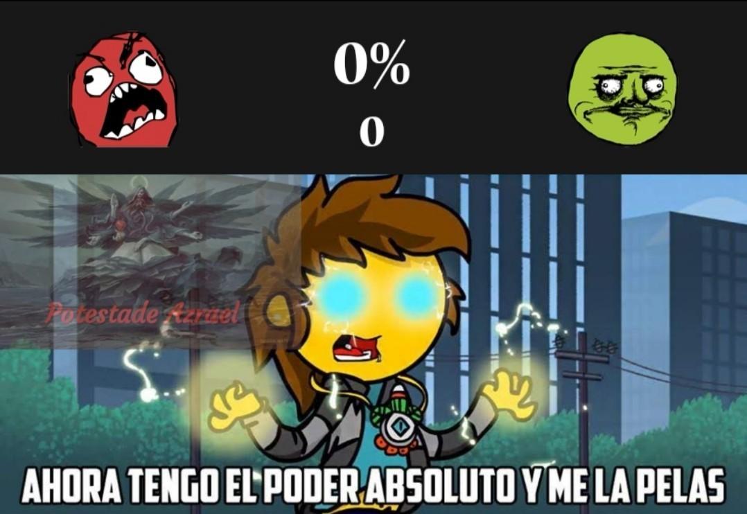 El 0% no vale nada :v - meme