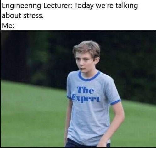 stressful things. - meme