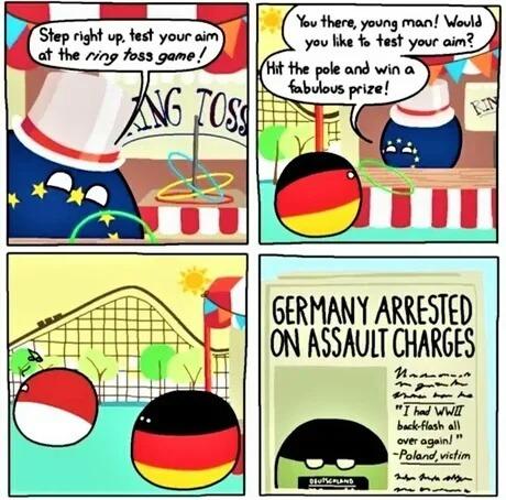 German arrested - meme