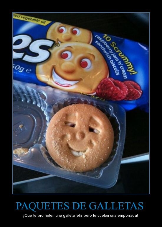 A que nunca tu galletita se fumo un porro - meme