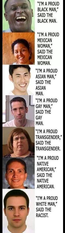 darn racists - meme