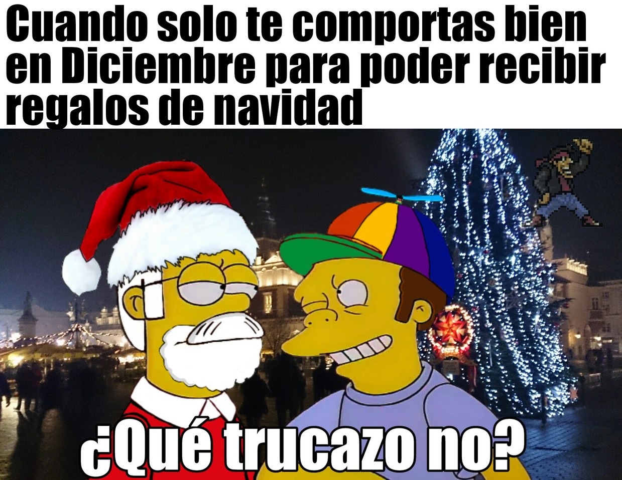 ¡Feliz navidad a todos, incluso a Zudokai! - meme
