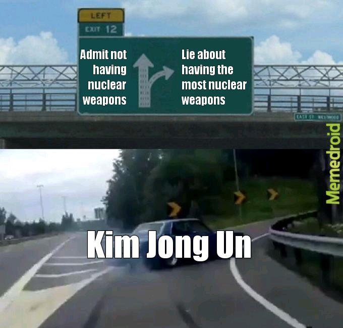 North Korea - meme