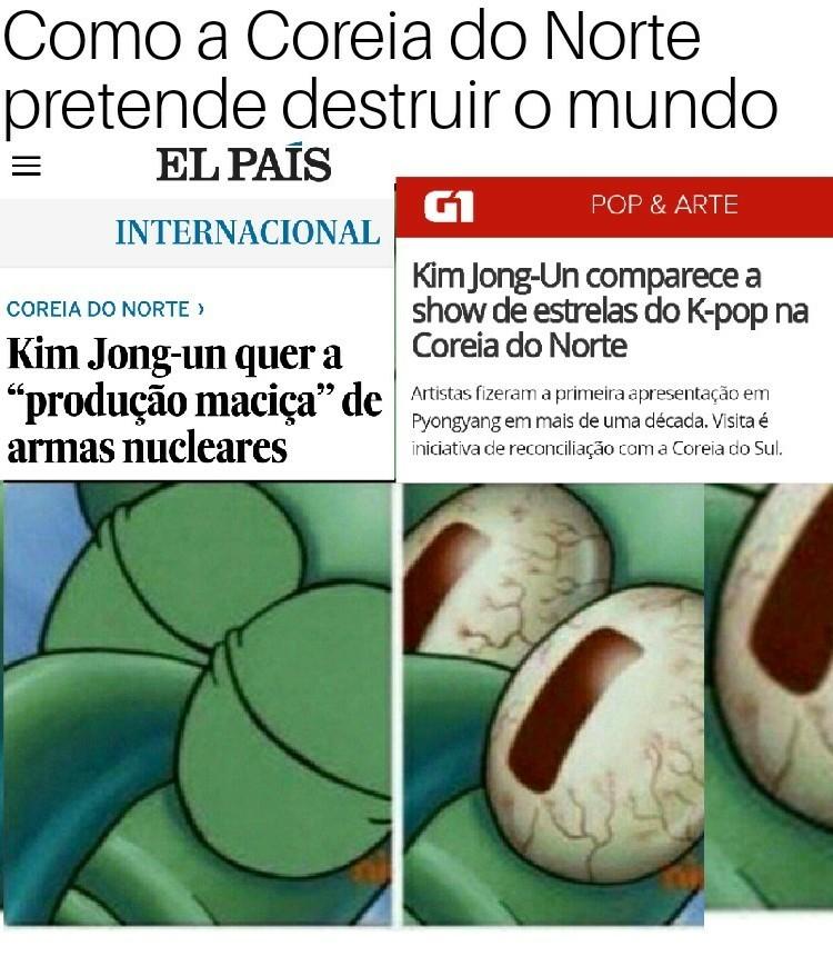 Os Coreanos nao terão poder - meme