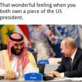 Putin and Prince MBS.