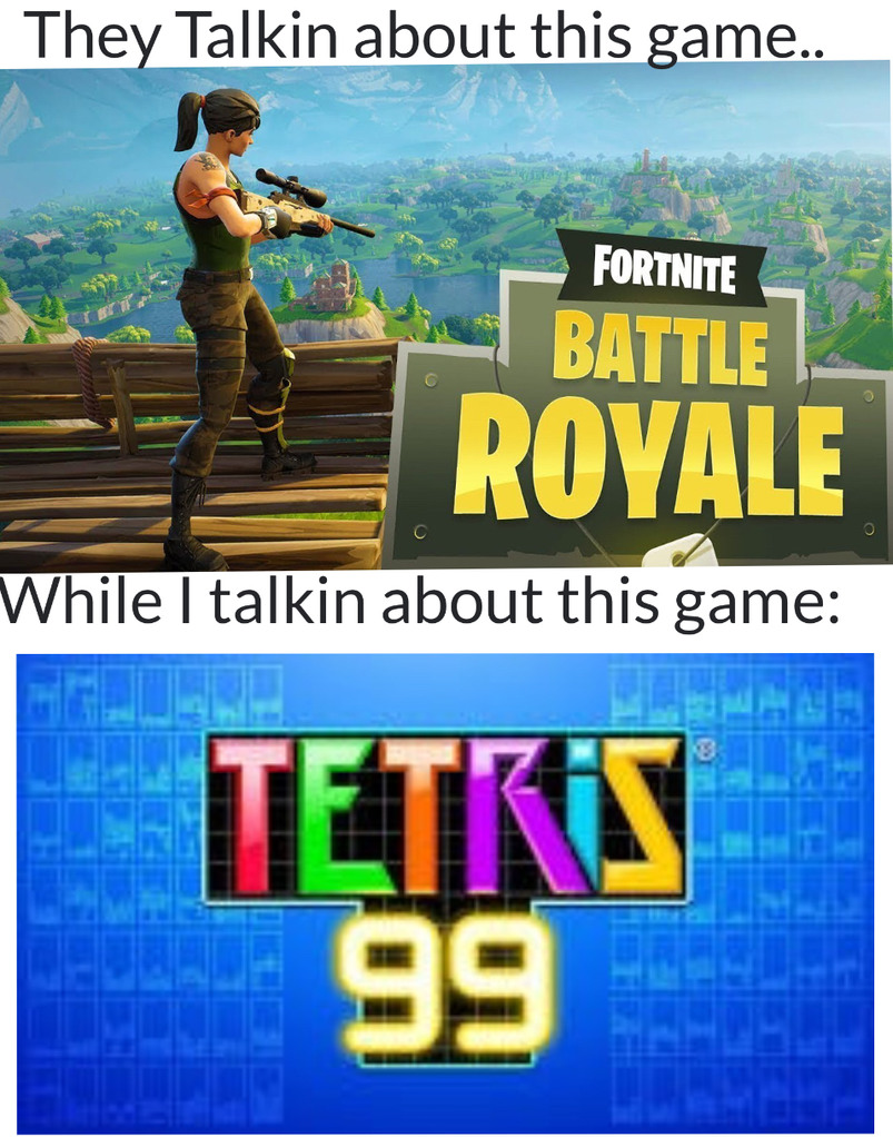 Tetris Battle Royale - meme