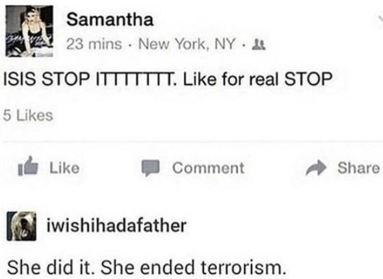 ISIS Ended? - meme