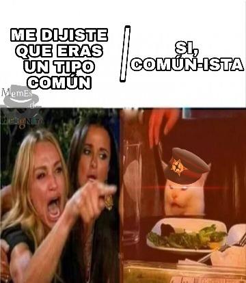 Sientome comunista hoy - meme
