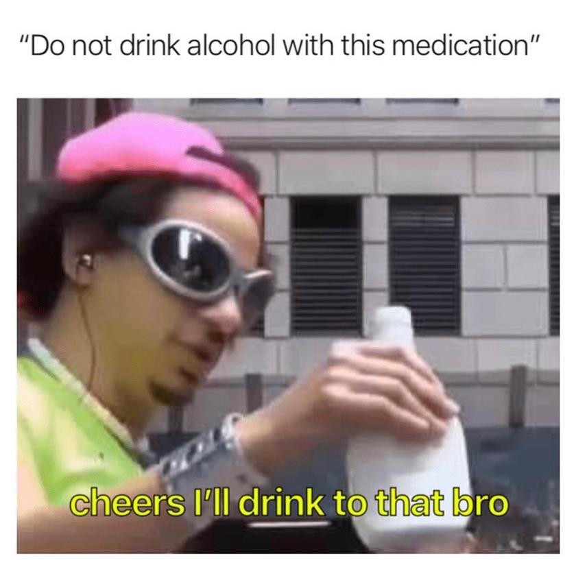 Drinks all around - meme