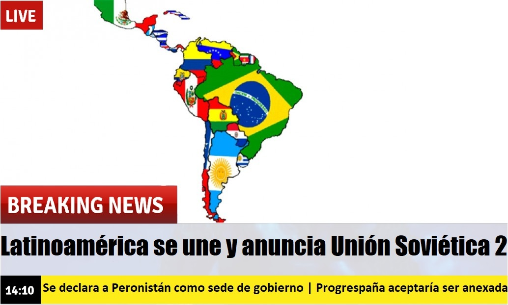 La_Posta de lo que pasaría si Latinoamérica se uniera. - meme