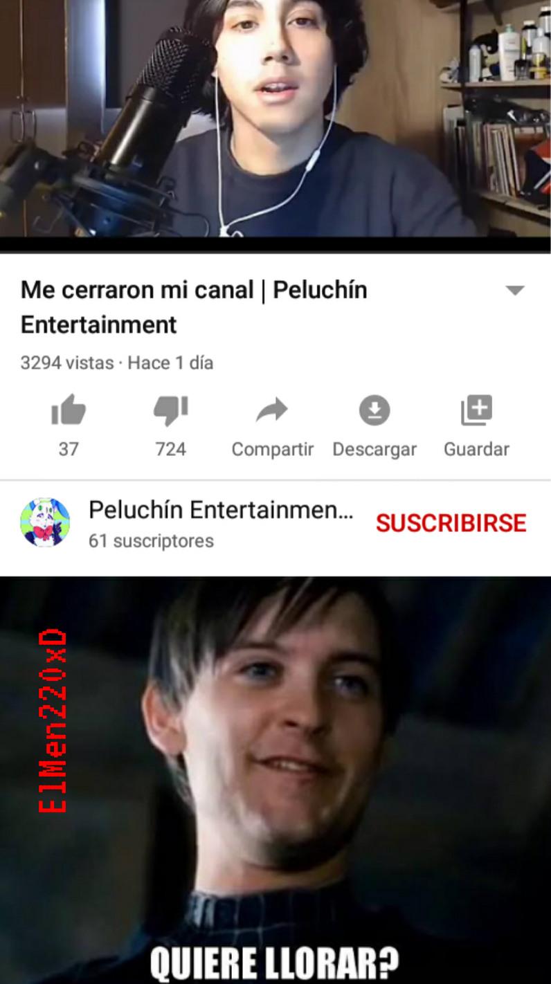 Quiere llorar el putin XD - meme