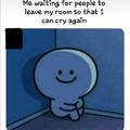 Sad noises :,(
