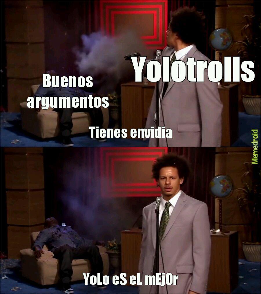 Fuck you yolo - meme