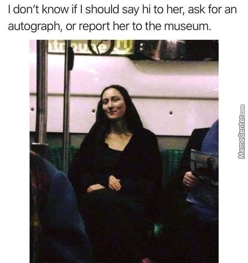Take her and put it on the wall - meme