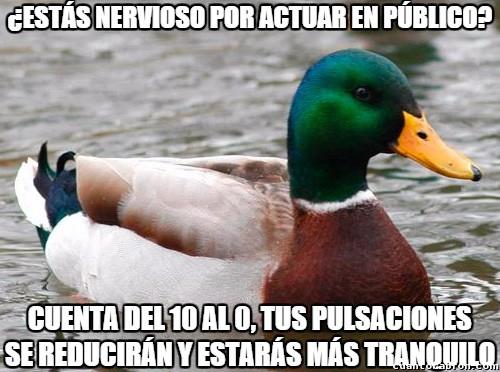 Pato consejero,(meme olvidado)5