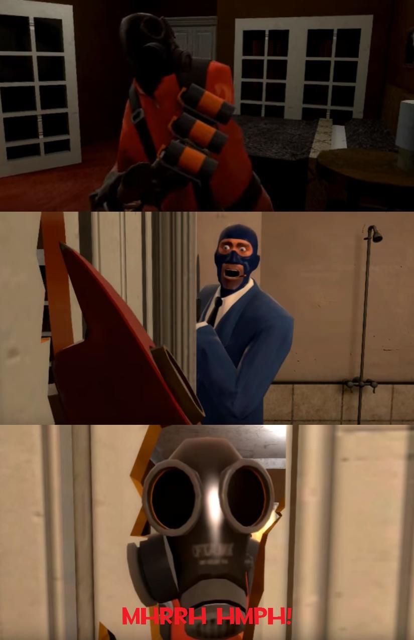 Here's Pyro! - meme