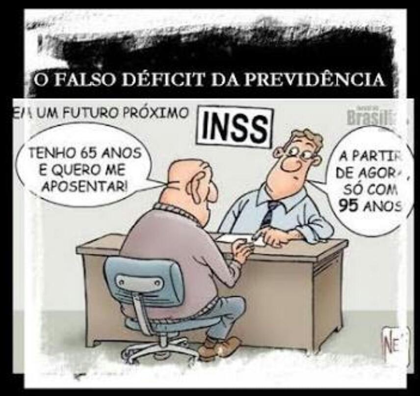 Não há rombo na previdência, Temer quer botar no seu rabinho :) acorde povo brasileiro! - meme