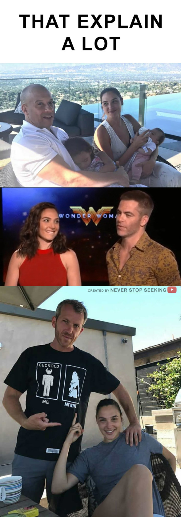 Poor Wonder Woman's Husband - meme
