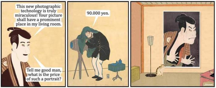 Origins of classical art - meme