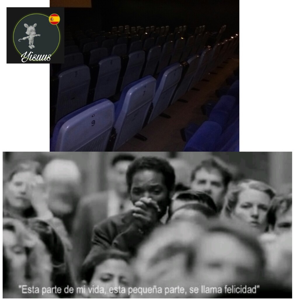 El cine vacio - meme