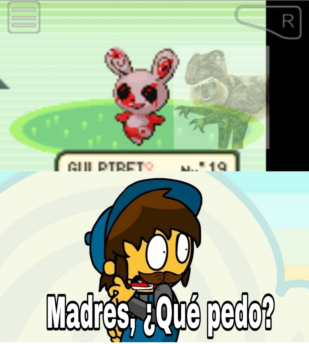 Spinda del Pokemon caos - meme
