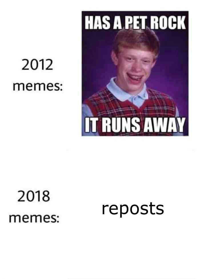 reposts everywhere - meme