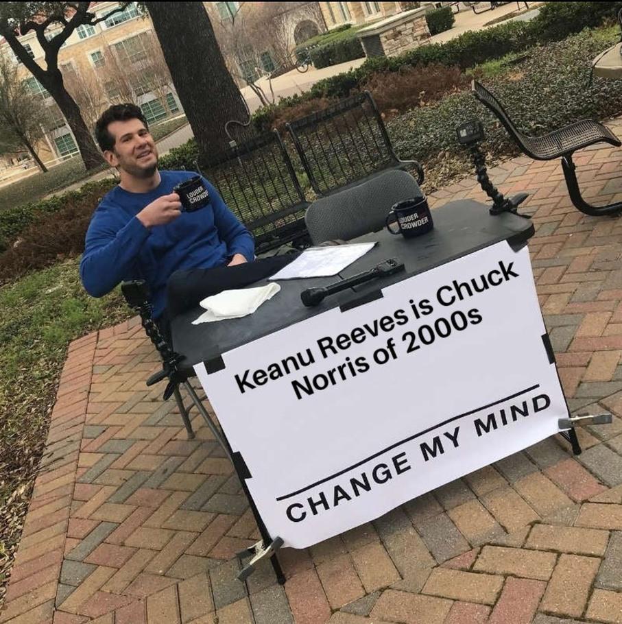 Chuck Reeves - meme