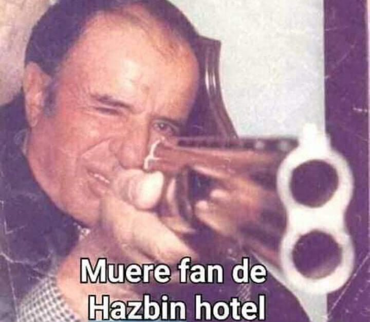 Muere fan de hazbin hotel - meme