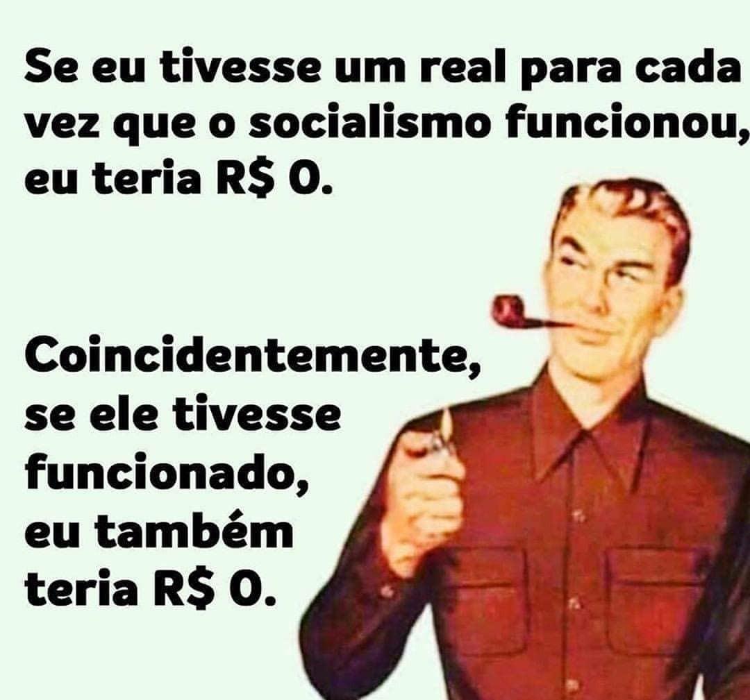 Créditos: @portallibertarianismo - meme